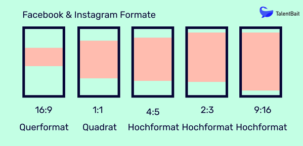 Social Media Formate