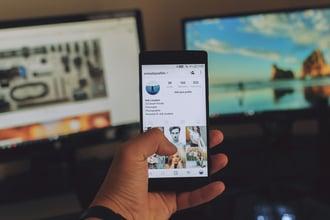 Stellenanzeige auf dem Smartphone
